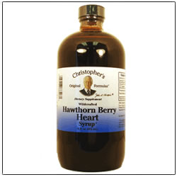 Hawthorn Berry Heart Syrup