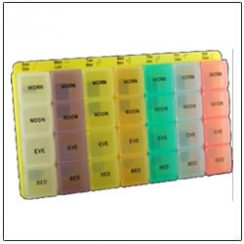 Color Coded Supplement Planner